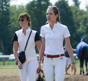 Charlotte Casiraghi et Marina Hands : copines d'équitation à Chantilly