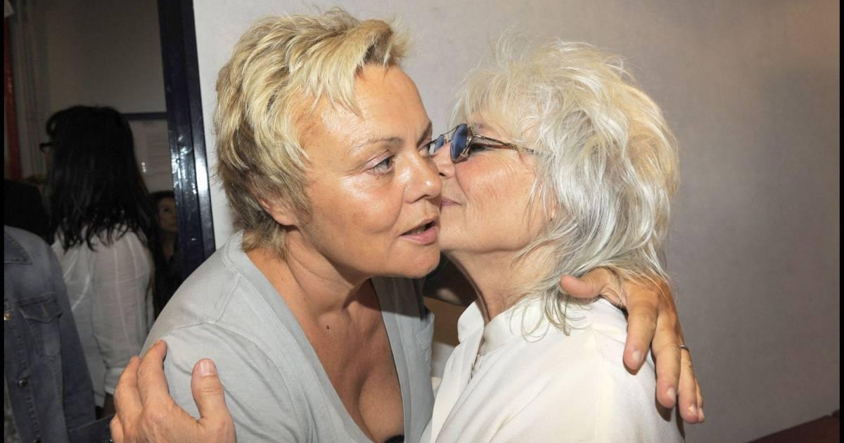 Muriel robin et catherine lara dans les coulisses du for Muriel robin le salon de coiffure