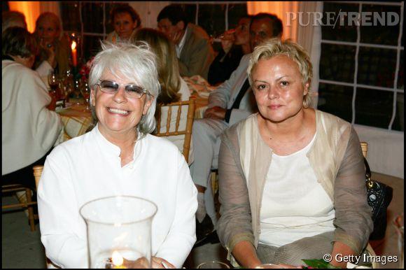 Muriel robin et catherine lara 30 ans d 39 amiti la r tro for Muriel robin le salon de coiffure