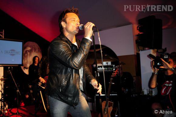 """David Hallyday de retour sur scène en 2014 avec un nouveau groupe, """"Mission Control""""."""