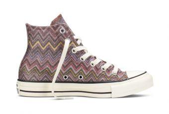 Converse X Missoni, la nouvelle collab qui va ravir les accros de sneakers
