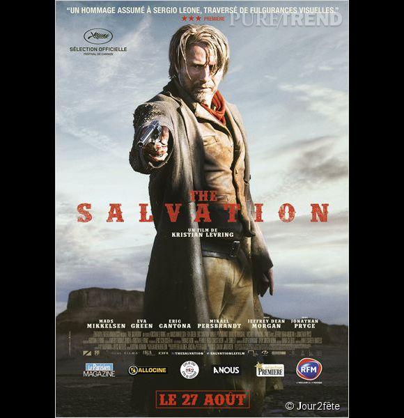 """""""The Salvation"""" avec Mads Mikkelsen, au cinéma le 27 août 2014."""