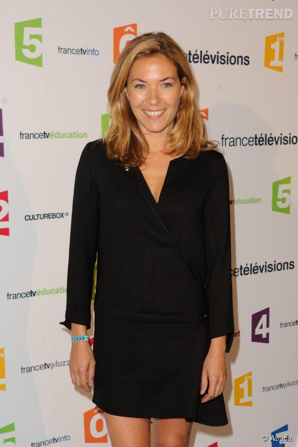 Claire Barsacq fait sa rentrée 2014 chez France Télévisions à Paris.