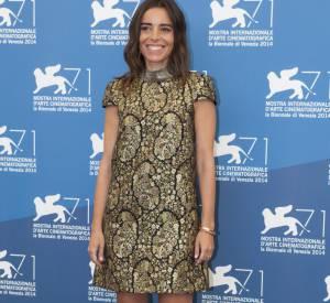 Elodie Bouchez, l'audacieuse du Festival de Venise.