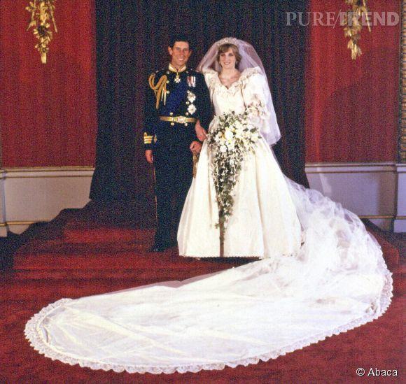 Lady Diana s'est mariée le 29 juillet 1981.