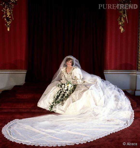 Lady Diana a voulu laisser sa robe de mariée à ses fils.
