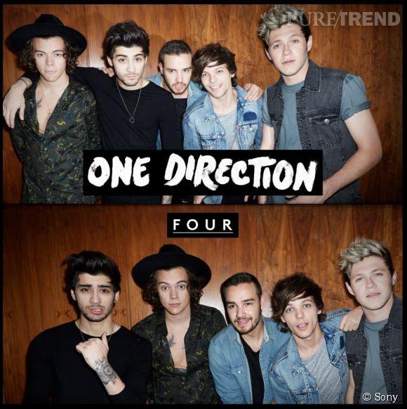 """Les One Direction révèlent leur nouveau single, """"Fireproof"""" et la date de la sortie de leur quatrième album, """"Four"""", prévu pour le 17 novembre 2014."""