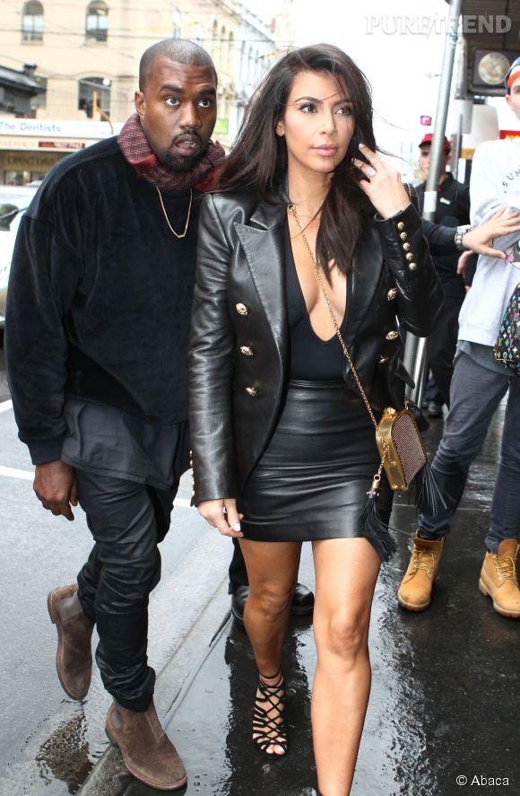 Kim Kardashian est pour le moins réchauffée en Australie.