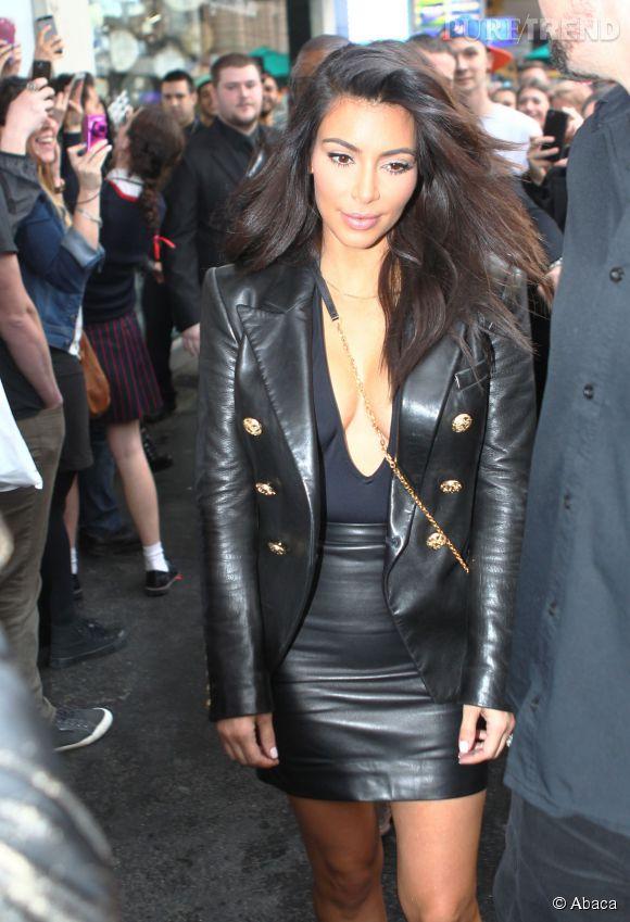 Kim Kardashian, toujours très classe.