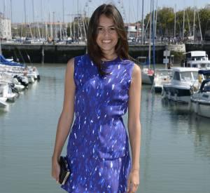 Louise Monot, solaire et souriante à la Rochelle.