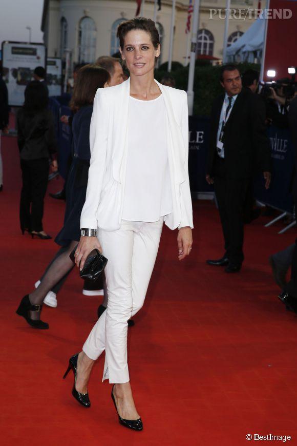 Helène Fillières, la belle gueule du Festival de Deauville en 2013.