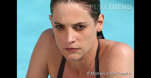 "Helène Fillières joue Sandra Paoli dans la série ""Mafiosa""."