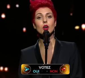 """Solène, la candidate chouchou de Cathy Guetta dans le premier épisode de la nouvelle émission de M6 : """"Rising Star""""."""
