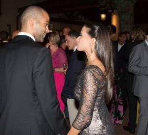 Tony Parker et Axelle Francine, sa si mystérieuse chérie, jeudi soir à Lyon à l'occasion de la soirée Par Coeur Gala.