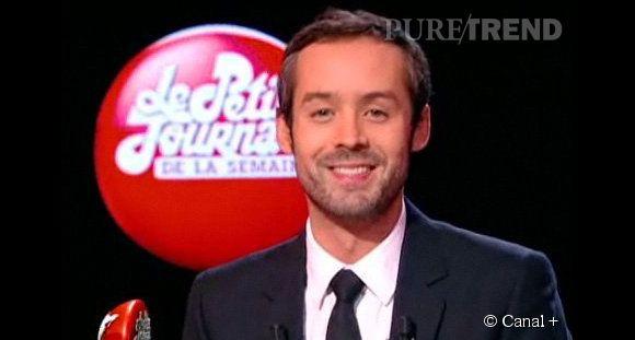 """Yann Barthès, le présentateur du """"Petit Journal"""" se confie à  Lui ."""