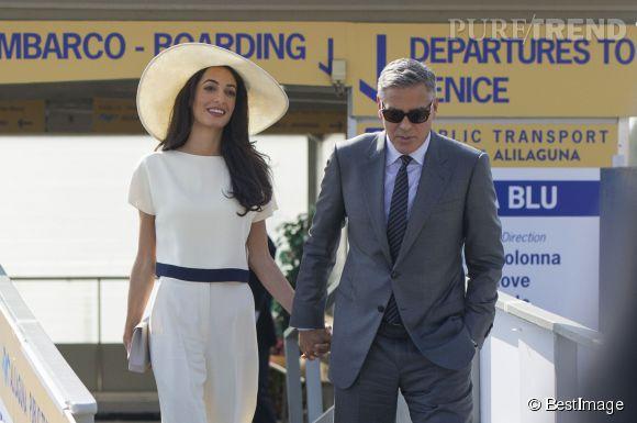Amal Alamuddin et George Clooney se sont mariés ce week-end à Venise en présence de 136 invités.