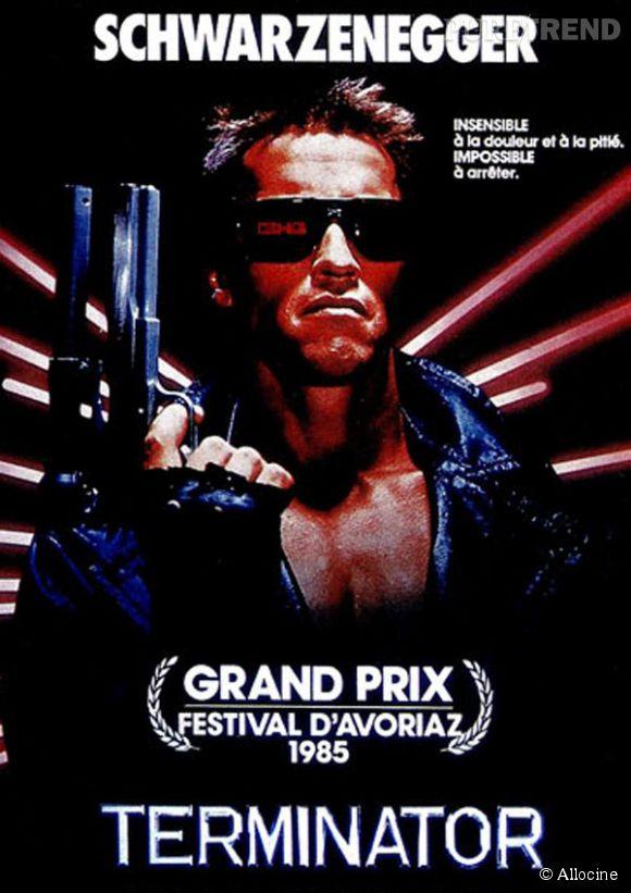 """Arnold Schwarzenegger, """"Terminator"""" débarque à l'Elysée pour parler environnement."""