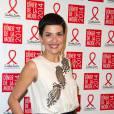 Cristina Cordula au gala de Sidaction en janvier 2014.