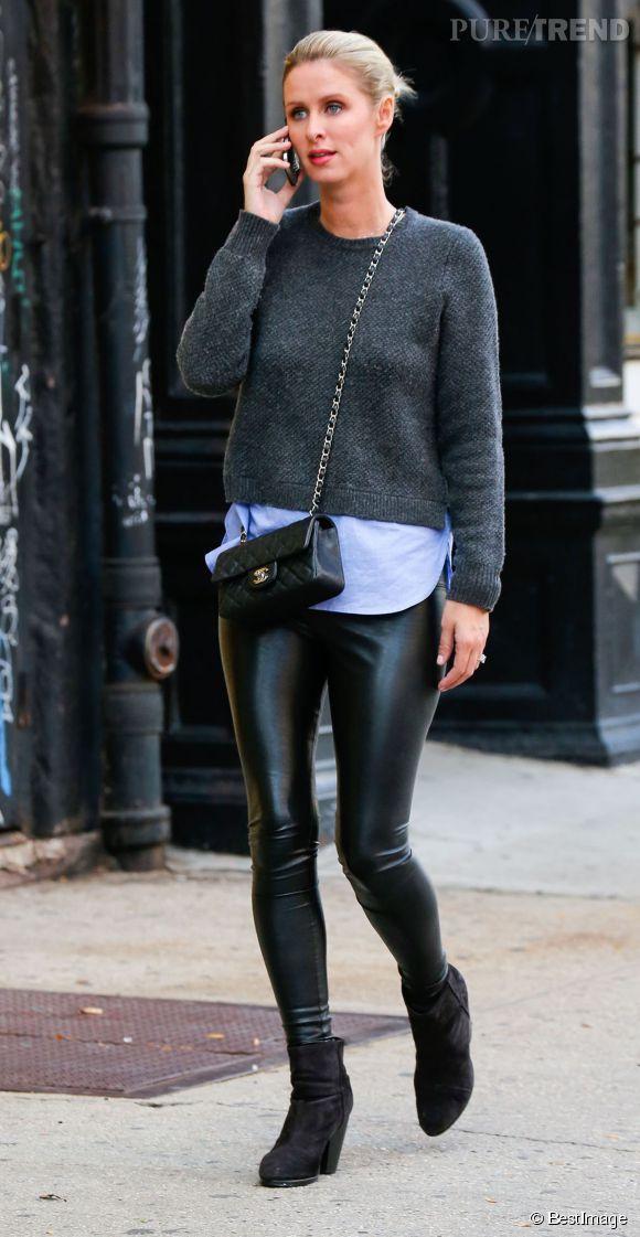 Nicky Hilton Sait Qu Avec Son Petit Sac Matelasse Chanel Elle Fait