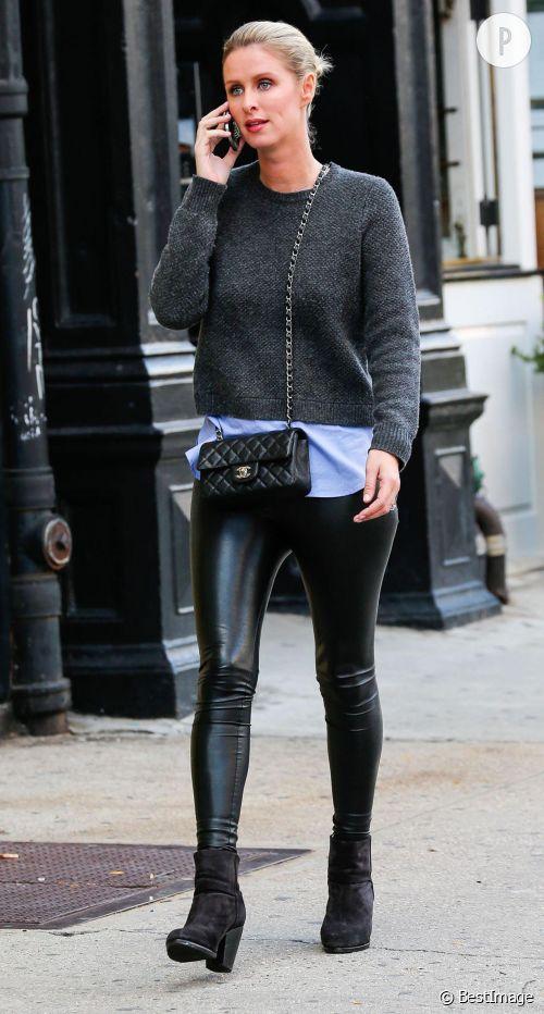 Nicky Hilton, la  soeur  discrète de Paris au look toujours chic.