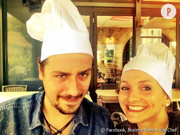 Noémie Honiat et Quentin Bourdy sont désormaismari et femme.