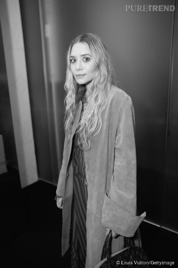 Ashley Olsen lors de la soirée Louis Vuitton Monogram au MoMa à New York le 7 novembre 2014.