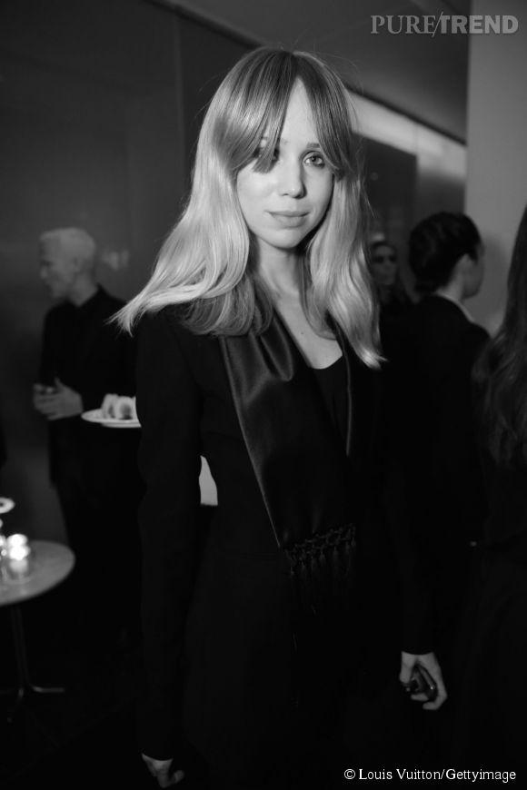Elin Kling lors de la soirée Louis Vuitton Monogram au MoMa à New York le 7 novembre 2014.