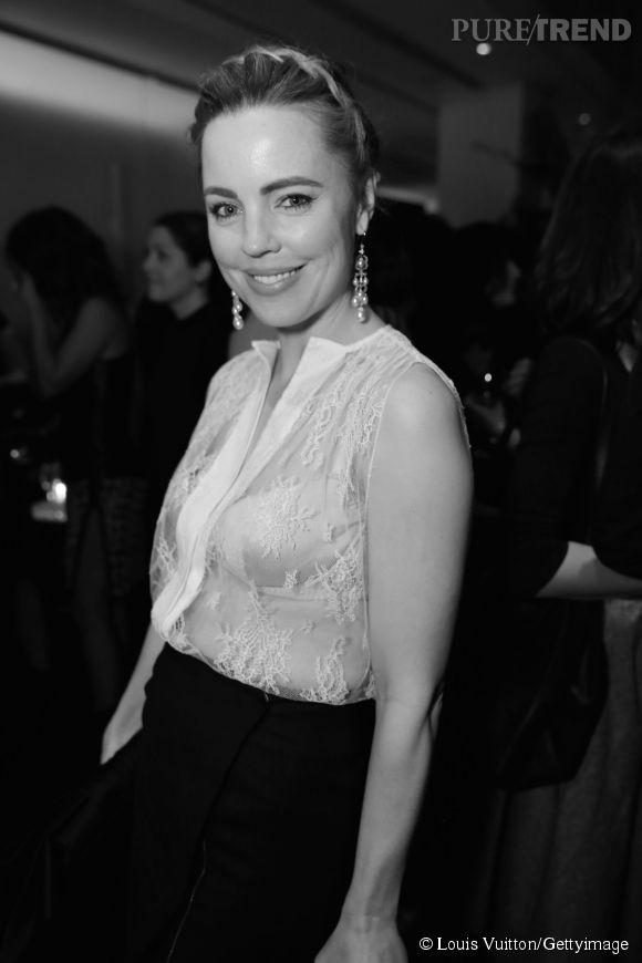 Melissa George lors de la soirée Louis Vuitton Monogram au MoMa à New York le 7 novembre 2014.