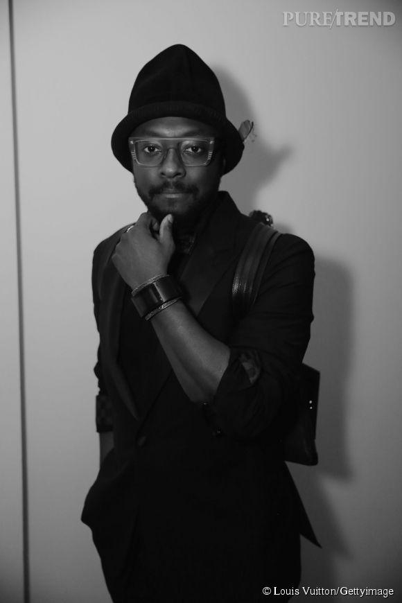 Will.i.am lors de la soirée Louis Vuitton Monogram au MoMa à New York le 7 novembre 2014.