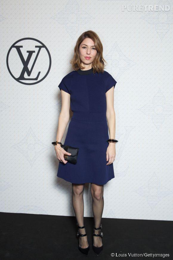 Sofia Coppola lors de la soirée Louis Vuitton Monogram au MoMa à New York le 7 novembre 2014.