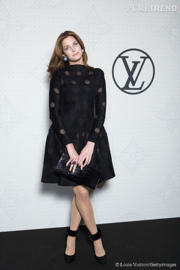 Stephanie Seymour lors de la soirée Louis Vuitton Monogram au MoMa à New York le 7 novembre 2014.