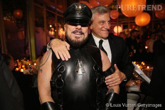 Peter Marino et Sydney Toledano lors de la soirée Louis Vuitton Monogram au MoMa à New York le 7 novembre 2014.