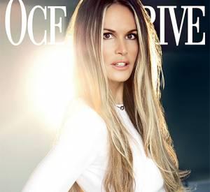 Elle Macpherson en couverture du magazine Ocean Drive de novembre 2014.