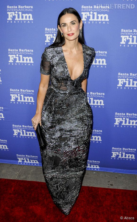 Demi Moore au Santa Barbara International Film Festival le 17 novembre 2014.