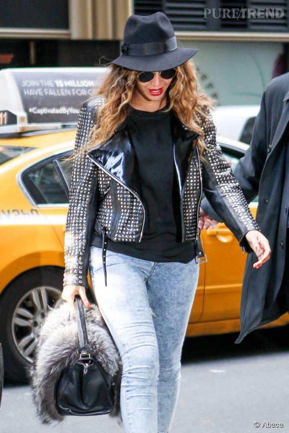 Beyoncé dans les rues de New York ce jeudi 20 novembre 2014.