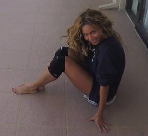 """Clip homemade de Beyoncé pour """"7/11""""."""