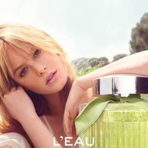 Camille Rowe dans la publicité pour L'Eau de Chloé.