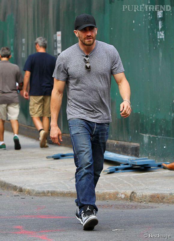 """Jake Gyllenhaal est à nouveau transformé : il a pris de sacrés biscottos pour le film """"Southpaw""""."""