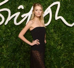 Lily Donaldson aux British Fashion Awards 2014 à Londres le 1er décembre 2014.