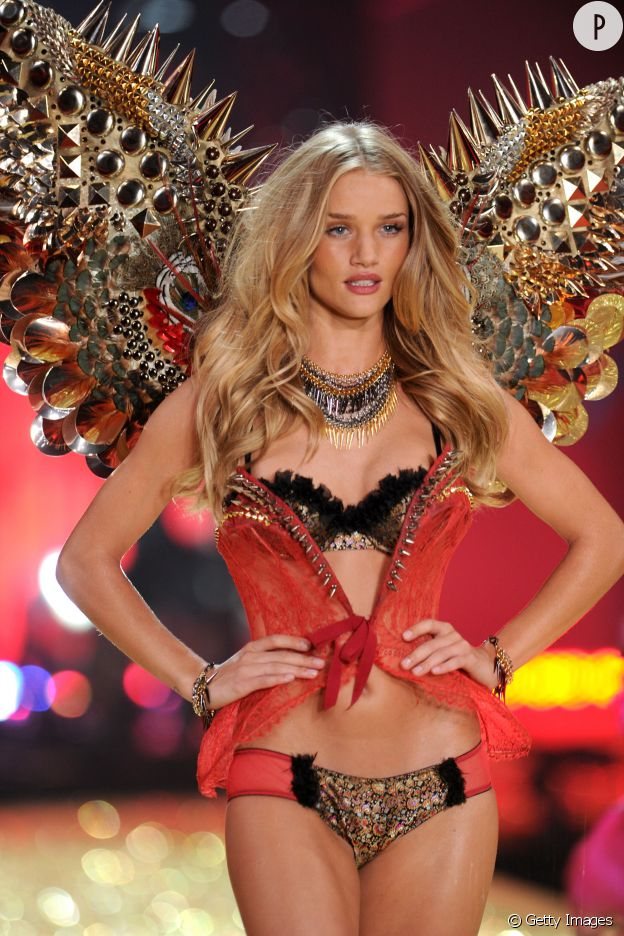 Rosie Huntington-Whiteley, la bombe british de Victoria's Secret.