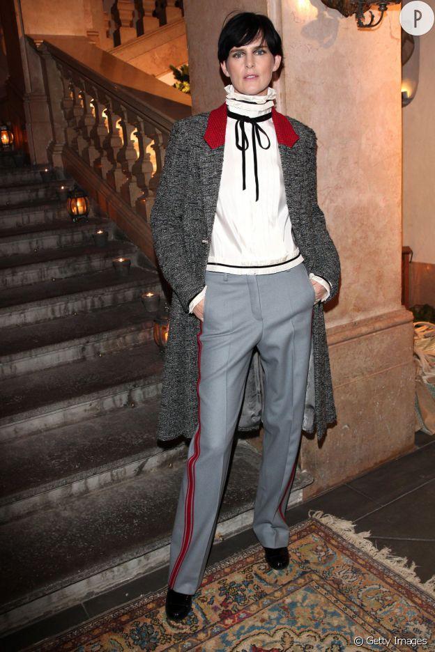 Stella Tennant au défilé des Métiers d'art de Chanel, Paris-Salzburg 2014/2015.