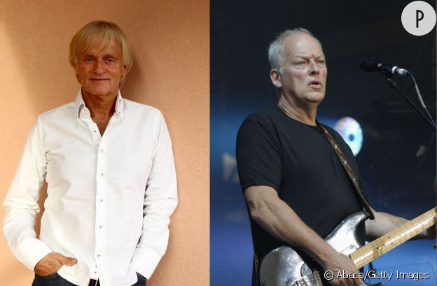 Dave et David Gilmour