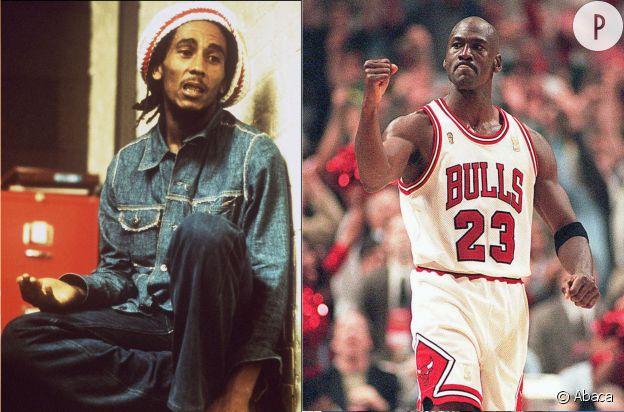 Bob Marley et Michael Jordan