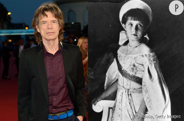Mick Jagger et Anastasia