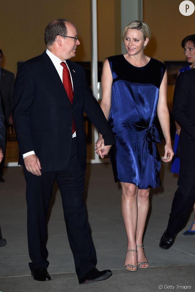 La princesse Charlene de Monaco plus radieuse que jamais.