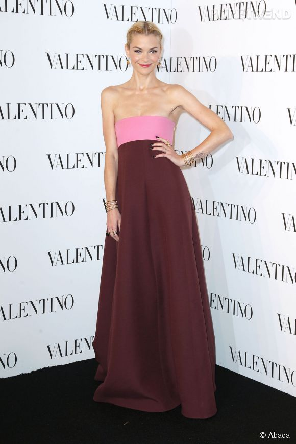 Jaime King à la soirée Valentino Sala Bianca 945 le 10 décembre 2014 à New York.