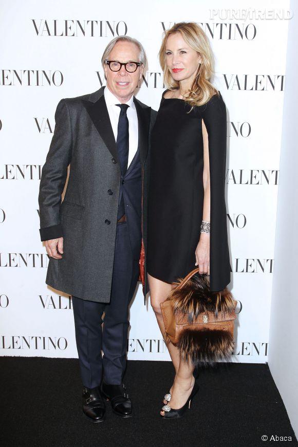 Tommy Hilfiger et sa femme Dee Ocleppo Hilfiger à la soirée Valentino Sala Bianca 945 le 10 décembre 2014 à New York.