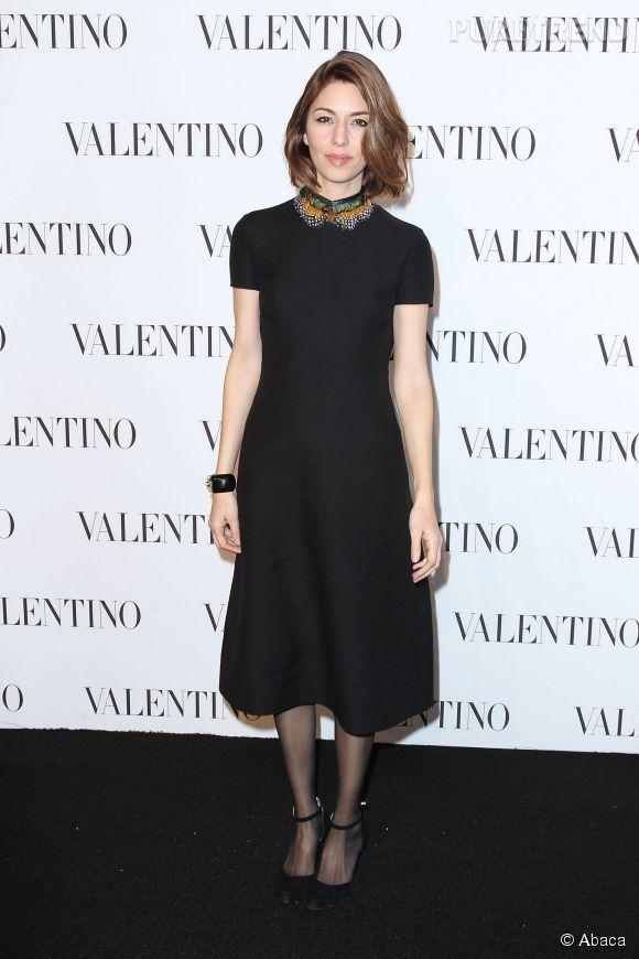 Sofia Coppola à la soirée Valentino Sala Bianca 945 le 10 décembre 2014 à New York.
