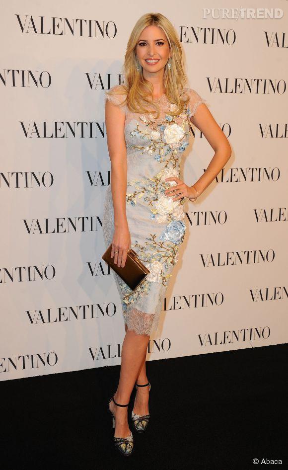 Ivanka Trump à la soirée Valentino Sala Bianca 945 le 10 décembre 2014 à New York.
