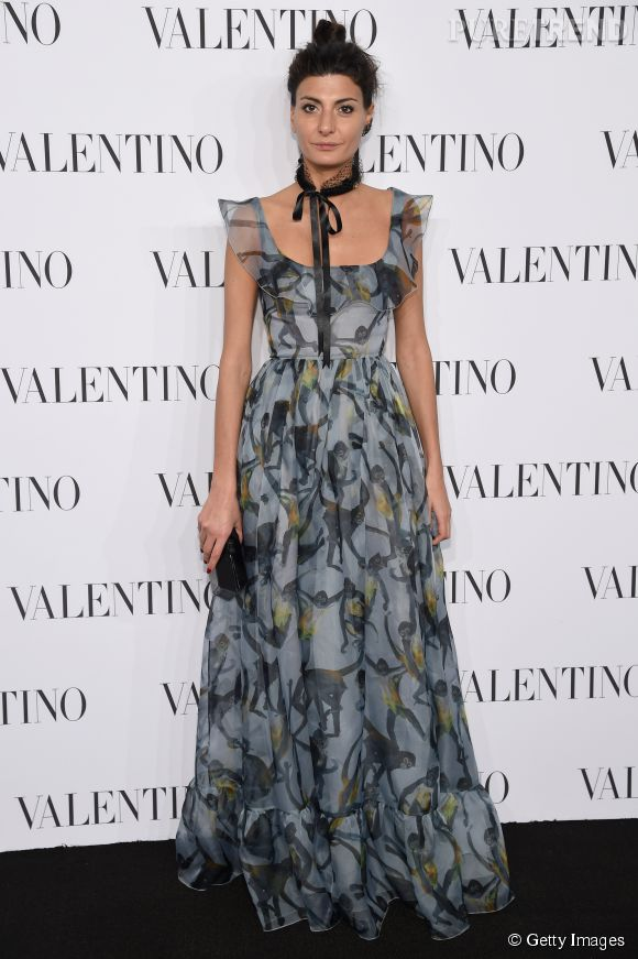 Giovanna Battaglia à la soirée Valentino Sala Bianca 945 le 10 décembre 2014 à New York.